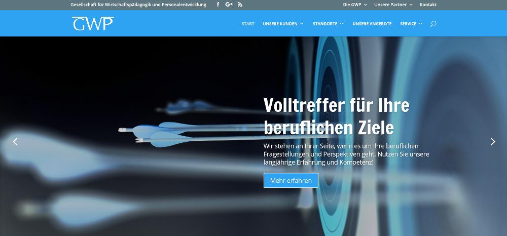 Responsive Webdesign Startseite