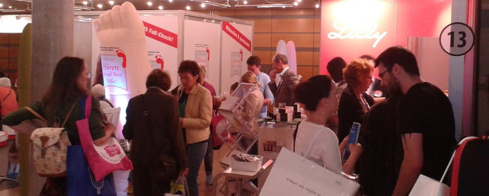 Diabetes-Gesundheitsmesse, Kongresspalais Kassel
