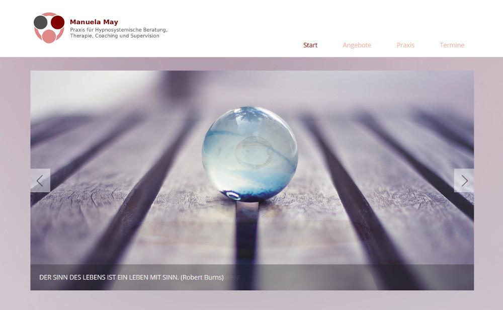 Responsive Webdesign - Detail Startseite