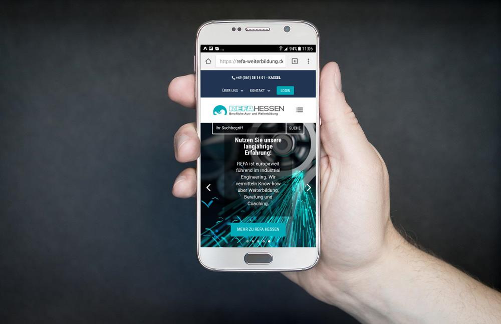 Nutzerorientiert: Mobiloptiertes Webdesign