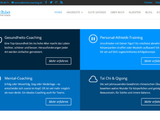 Webdesign Richie – The Coach