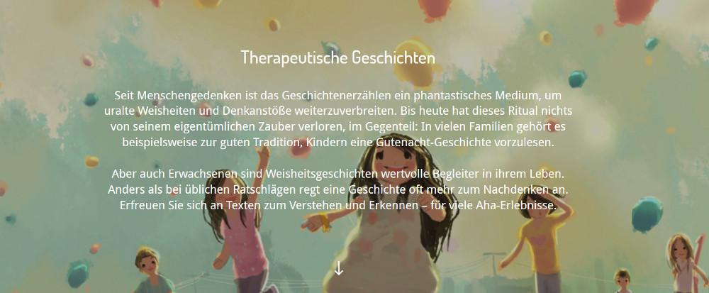 Integration Therapeutische Geschichten mit Lerneffekt