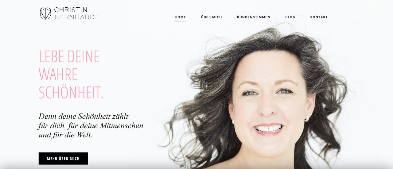 Webdesign Christin Bernhardt