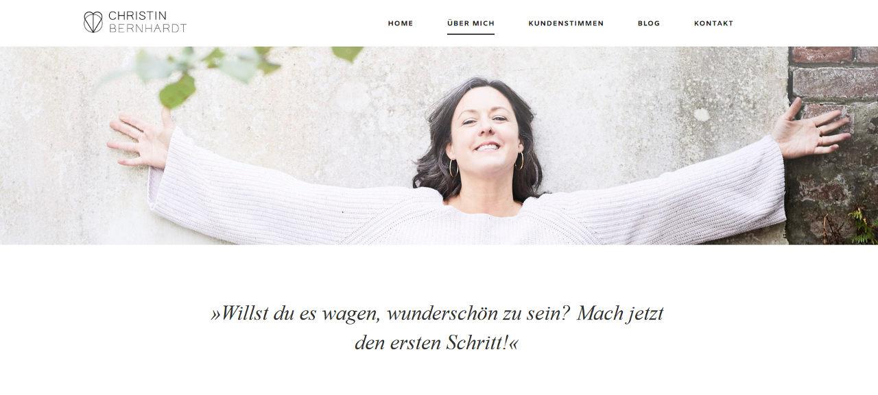 Webdesign Christin Bernhardt 2