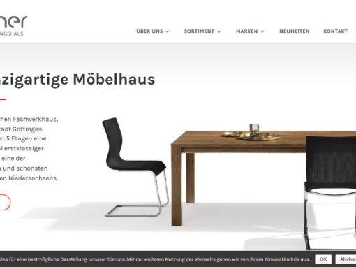 Webdesign Günther Einrichtungshaus