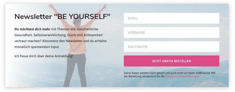 Newsletter-Marketing Sign in